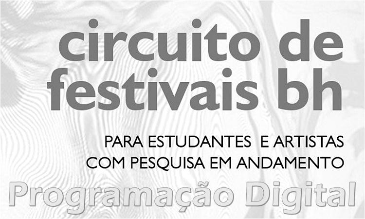 Circuito de Festivais BH - Programação Digital by Sortimentos.com
