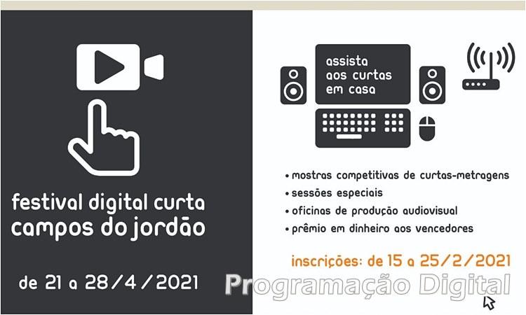 Festival Digital Curta Campos do Jordão - programacaodigital.com