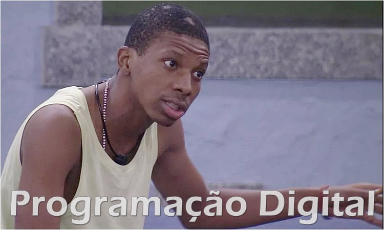 Lucas no BBB21 - Big Brother Brasil - Globo - programacaodigital.com