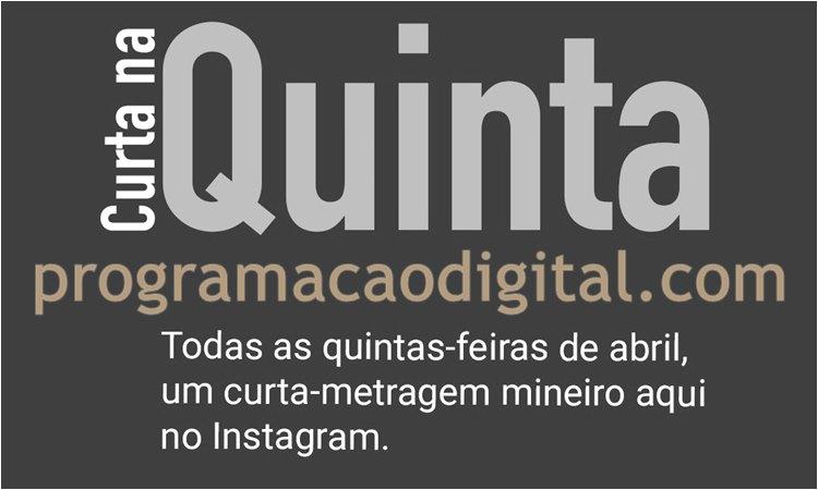 Curtas-metragens mineiros no Instagram do Sesc Palladium - programacaodigital.com