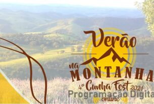 Verão na Montanha Cunha Fest 2021 -programacaodigital.com