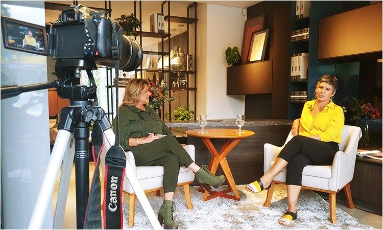Programa da jornalista Regina Lima no Canal Bah TV - programacaodigital.com