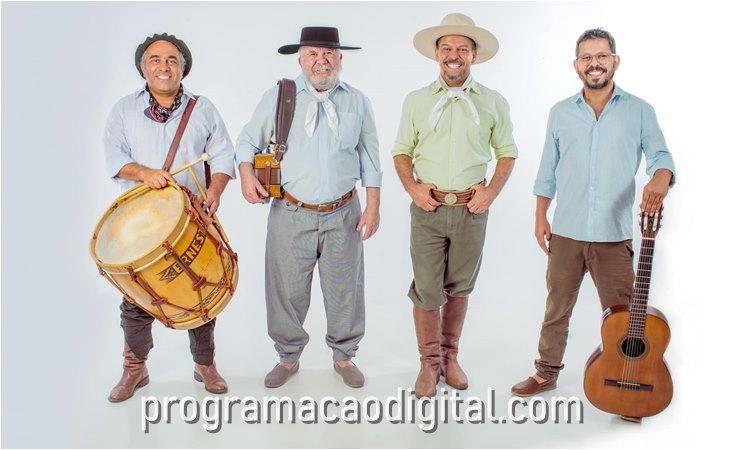 Os Fagundes grupo de música gaúcha - programacaodigital.com