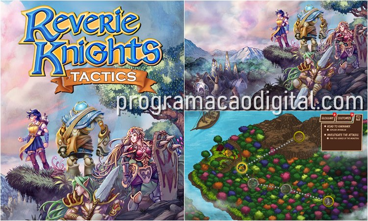 RPG Tático Reverie Knights Tactics - demo gratuita de game Steam