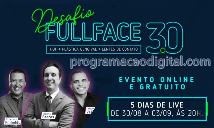 Desafio Full Face 3.0 : Harmonização Orofacial - Estética Facial - programacaodigital.com
